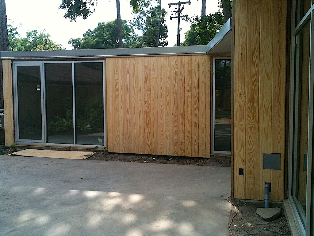 New Siding And Paint Mid Century Modern Houston